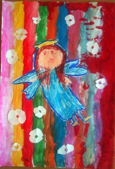 Anioł School Ideas, Kids, Painting, Instagram, Art, Young Children, Art Background, Boys, Painting Art