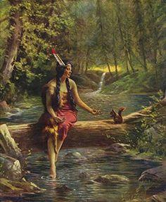 Indian Maiden with Squirrel : R. Atkinson Fox : Circa 192... https://www.amazon.com/dp/B015TI9VA2/ref=cm_sw_r_pi_dp_x_jOq9yb0K6S9F8