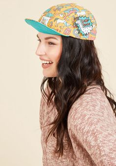#AdoreWe #ModCloth Fashion Hat - Scarf - Glove - ModCloth High Five-Panel! Hat in Adventurous - AdoreWe.com