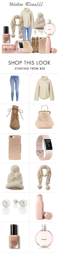 """""""Winter Wear"""" by hastings-avant ❤ liked on Polyvore featuring Steve Madden, Shrimps, Kate Spade, Fitbit, Betty Barclay, Maybelline, Puma, Bobbi Brown Cosmetics and Chanel"""