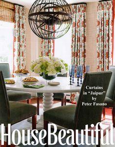 Jaipur curtains | Peter Fasano