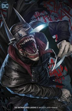 Batman Who Laughs Mattina - Batman Poster - Trending Batman Poster. - Batman Who Laughs Skan Batman Painting, Batman Artwork, Batman Wallpaper, Batman Metal, Batman Dark, Joker Batman, Arte Dc Comics, Fun Comics, Best Comic Books