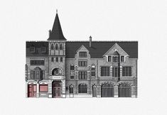 Built Environment, Freelance Illustrator, Detailed Image, How To Draw Hands, Oxford, Fire, Architecture, Building, Illustration