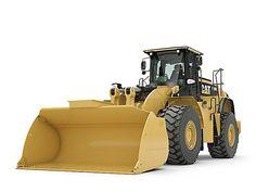 Cat  980K Wheel Loader Caterpillar Loaders Pinterest