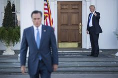 President-elect Donald Trump is for now unswayed by the extraordinarily public revolt by some of his top advisers and allies over the possible choice of Mitt Romney as secretary of state and continues to see his foe as a serious contender for the diplomatic post, several people briefed on the deliberations said Monday.