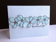 Gorgeous Artful Flowers card created by Lisa Adessa using brand New Simon Says Stamps from the Hop To It release