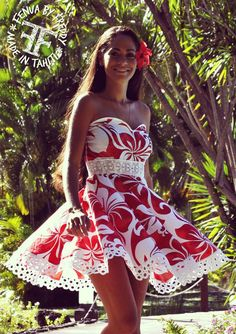 Island dress for engagement photos Más Island Wear, Island Outfit, Vestidos Luau, Samoan Dress, Tahitian Costumes, Hawaii Dress, Engagement Dresses, Engagement Photos, Tropical Dress
