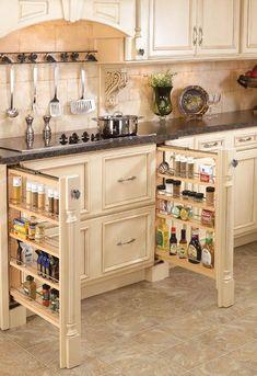 Country Kitchen Cabinets, Kitchen Cabinet Design, Kitchen Redo, Kitchen Cupboards, Redoing Kitchen Cabinets, Country Farmhouse Kitchen, Small French Country Kitchen, Best Kitchen Layout, Country Kitchen Designs
