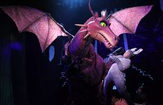 Photo by growingupwithblake Donkey And Dragon, Shrek Dragon, Lion King Costume, Here Be Dragons, Dragon Movies, Stage Design, Musical Theatre, Puppets, Musicals