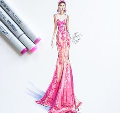#fashion #illustration #girl #drawing