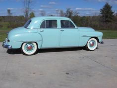 1951 PLYMOUTH CANBROOK. Our family's first car. My dad was so proud. Ours was a dark green. Kc