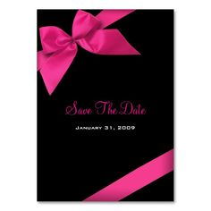 Pink cocktail wedding event custom drink ticket business card pink ribbon wedding save the date minicard business cards cheaphphosting Images