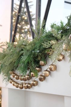 Winter Wonderland Christmas Home Tour: Living Room and Family Room - The House of Silver Lining