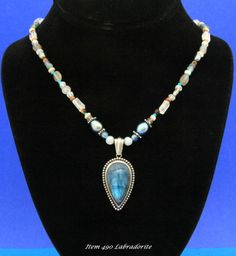 Costom Designed Labradorite Necklace $143.00                                                           This Item was SOLD