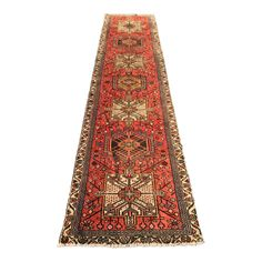 "Image of Vintage Persian Karajeh Runner - 2'5 1/2""x10'3"""