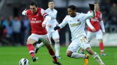 Arsenal play Swansea tonight. Good luck!!!  ~COYG