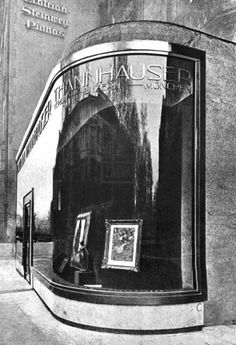 Conversion of Thannhauser Gallery (1927-28) in Berlin, Germany, by Hans & Wassili Luckhardt with Alfons Anker