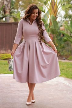 46 Pastel Outfits To Look Cool #dresses  #swingdress  #halfsleeves  #skaterdress