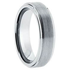 MSRP: $249.99    Our Price: $69.99    Savings: $180.00         Item Number: WRTG0005A    Availability: Usually Ships in 5 Business Days         Product Description:         Crafted in Durable Tungsten Carbide, this handsome wedding band for him features a flat band design with a Satin finish and step-down edges.      Tungsten because of its toughness, affordability, scratch resistance and hypoallergenic properties has become a material of choice in wedding jewelry. Available in a wide range…