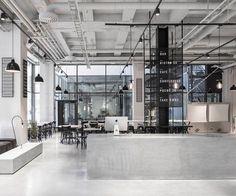5osA: [오사] :: *스칸다비아 디자인과 인더스트리얼 디자인 접목, 오픈 레스토랑 [ Richard Lindvall ] Swedish Tax Office Transformed Into A Bright And Open Restaurant