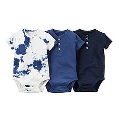 jcp | Carter's® 3-pk. Short-Sleeve Bodysuits - Baby Boys newborn-24m