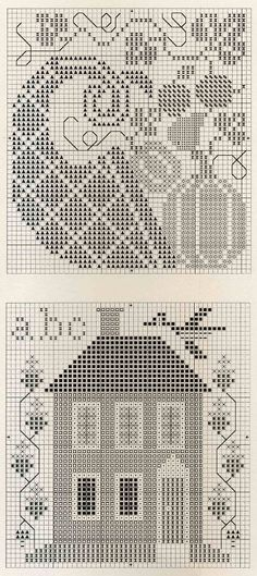 Cross-stitch Fall charts, part 2..  color chart on part 3...    Gallery.ru / Photo # 2 - The Magic Oak - lenkner