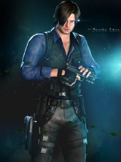 D.S.O. Agent - Leon S. Kennedy by DemonLeon3D.deviantart.com on @deviantART