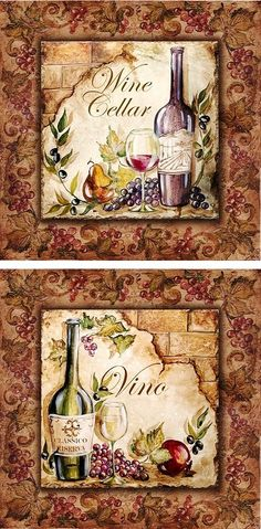 Decoupage three ways – what types of paper can be used? Decoupage Vintage, Decoupage Paper, Wine Bottle Art, Wine Art, Wine Painting, Painting On Wood, Diy And Crafts, Arts And Crafts, Paper Crafts
