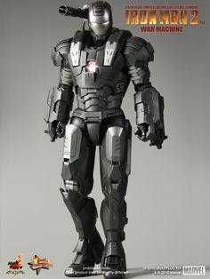 Hot Toys MMS 120 Iron Man 2 – War Machine – Hot Toys Complete Checklist