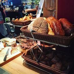 Travel in Helsinki Finland. #travel #helsinki #finland #201606 #shotoniphone6 #breakfast #bread