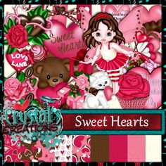 Crystals Creations: Sweet Heart Collab *Freebie*