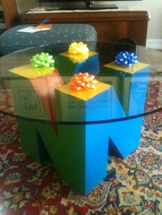 Amazing N64 coffee table!