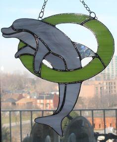 dolphin in tube green.JPG