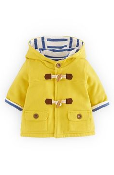 "Free shipping and returns on Mini Boden Cotton Jersey Duffle Jacket (Baby Boys) at Nordstrom.com. <p><B STYLE=""COLOR:#990000"">Pre-order this style today! Add to Shopping Bag to view approximate ship date. You'll be charged only when your item ships.</b></p><br>A striped, cotton lining refreshes a lightweight duffle jacket while providing your little one with cool-weather comfort."
