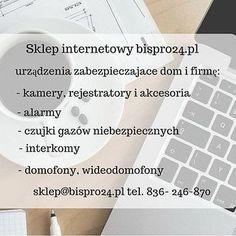 Zapraszamy www.bispro24.pl #bispro24 #monitoring #cctv #skleponline