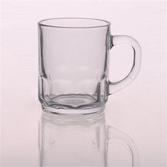 Promotional glass tumbler beer mug with handle, glass cups, glassware supplier from okcandle.com