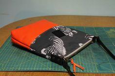 Torebka od BAGS BY MAY uszyta z drukowanych u nas tkanin :)