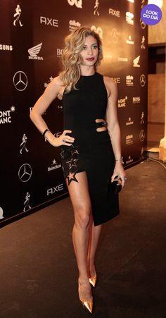 1739cc22cff8e 110 Best Grazi Massafera images   Celebrities, Celebs, Dress black
