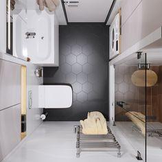 Санузел бело черный Bathtub, Bathroom, Standing Bath, Washroom, Bath Tub, Bath Room, Tubs, Bathrooms, Bathtubs