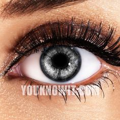 Glimmer Silver Contact Lenses - I want.