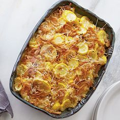 Squash Casserole Recipe. We have LOTS of summer squash this year
