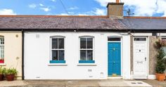 Property description:a split level one bedroom mid terrace house with large attic room. two storey beneath a pitched roof. Mid Terrace House, Small Terrace, Small Courtyards, Irish Cottage, Dublin City, Attic Rooms, Townhouse, House Design, Outdoor Decor
