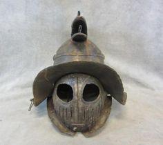 #Spartacus Screen Worn Murmillo Gladiator Arena Helmet Ep 205 #Memorabilila www.wonderfinds.com/item/3_310661923474/c18841/SPARTACUS