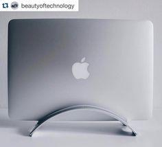 #Repost @beautyoftechnology  BookArc from @twelvesouth Beautiful technology deserves beautiful accessories!  By: @nicolay.t #BeautyOfTechnology  #twelvesouth #BookArc #macbook  #clean  #minimalism #minimalist