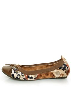 Rebels Pandora Tan Scarf Print Cap-Toe Ballet Flats   omg want these in a size 8 so badly! love the patterns, so perfect for fall!