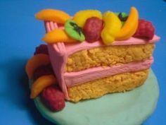 Delicious play-doh cake.