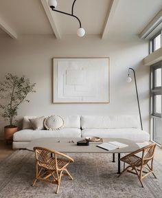 Living Room Interior, Home Living Room, Living Room Designs, Living Room Decor, Living Room Inspiration, Interior Design Inspiration, Style Deco, Japanese Interior, Design Your Home