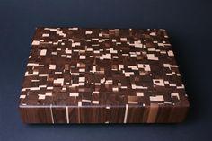 Make End Grain Cutting Board | Walnut and Maple End Grain Cutting Board $335.00 SOLD | Sanders ...