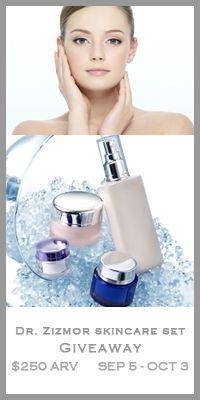 Win a Dr. Zizmor Advanced Skincare Set $250+ ARV!