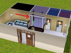Mod The Sims - Custom Rabbit Hole Doors